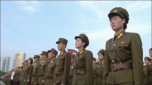 N Korea-soldiers