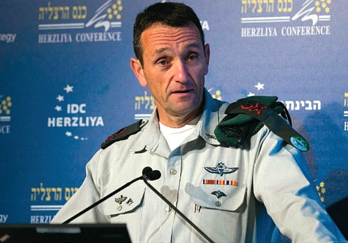 IDF-Chief of Military Intel