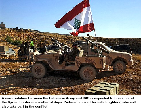 Aiding Lebanese Army-versus ISIS