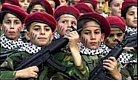 Palestinian children training.jpg