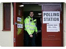 UK-polling station