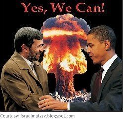 Iran-Obama & Ahmadinejad: yes we can.jpg