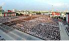 N Korea-mass crowds