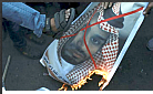 Pals burn photo of Saudi Crown Prince