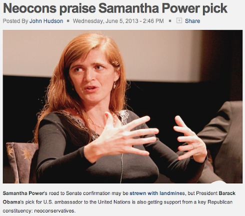 Neocons Praise Samantha Power.jpg