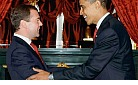 Obama meets w/then Russian Pres Dmitry Medvedev.jpg