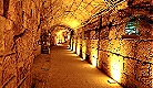 Tunnel beneath Western Wall