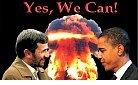 Iran-Obama & Ahmadinejad: yes we can.jpg